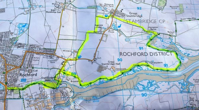 Roach Valley Way, Foulness Island Recce Walk – 2nd April